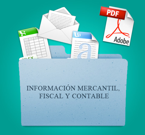 Información mercantil, fiscal y contable