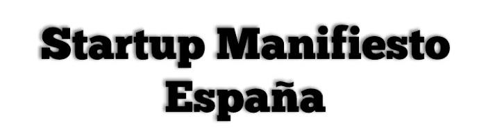 Manifiesto Startups España
