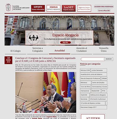 Revista Colegio de abogados
